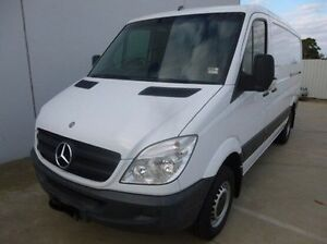 2010 Mercedes-Benz Sprinter White Automatic Van Coburg North Moreland Area Preview
