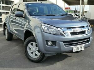 2014 Isuzu D-MAX MY14 LS-U Crew Cab Blue 5 Speed Sports Automatic Utility Green Fields Salisbury Area Preview