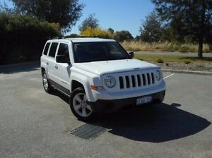 2012 Jeep Patriot MK MY2013 Sport CVT Auto Stick 4x2 White 6 Speed Constant Variable Wagon East Rockingham Rockingham Area Preview
