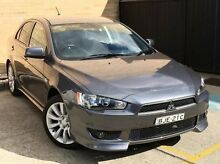 2009 Mitsubishi Lancer CJ MY09 VR-X Sportback Grey 5 Speed Manual Hatchback Kings Park Blacktown Area Preview