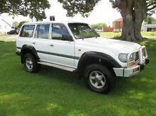 1995 Toyota Landcruiser HZJ80R GXL White 5 Speed Manual Wagon East Kempsey Kempsey Area Preview