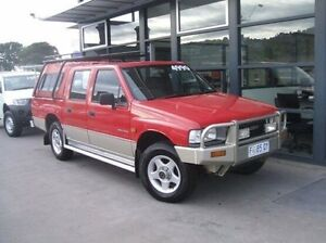 1994 Holden Rodeo TF DLX Crew Cab Red 5 Speed Manual Utility Invermay Launceston Area Preview