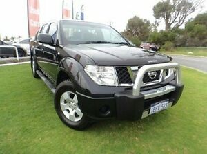 2012 Nissan Navara D40 S6 MY12 ST Black 5 Speed Sports Automatic Utility Mandurah Mandurah Area Preview
