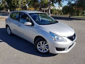 2015 Nissan Pulsar C12 Series 2 ST Silver 1 Speed Constant Variable Hatchback Nailsworth Prospect Area Preview