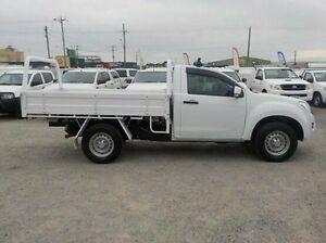 2013 Isuzu D-MAX White Sports Automatic Cab Chassis Pakenham Cardinia Area Preview