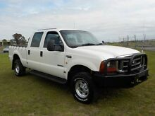 2005 Ford F250 RN XLT White 4 Speed Automatic Utility Pakenham Cardinia Area Preview