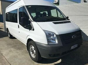 2012 Ford Transit VM MY13 Mid Roof White 6 Speed Manual Bus North Hobart Hobart City Preview