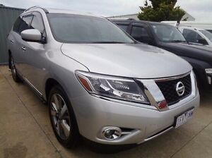 2014 Nissan Pathfinder R52 TI (4x4) Silver Continuous Variable Wagon Melton Melton Area Preview