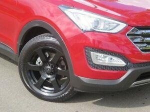 2012 Hyundai Santa Fe DM MY13 Elite Red 6 Speed Sports Automatic Wagon Christies Beach Morphett Vale Area Preview