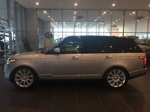 2016 Land Rover Range Rover L405 16.5MY SDV8 Vogue SE Silver 8 Speed Sports Automatic Wagon Coffs Harbour Coffs Harbour City Preview