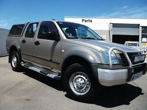 2005 Holden Rodeo RA MY05 LX Crew Cab Gold 5 Speed Manual Cab Chassis Devonport Devonport Area Preview