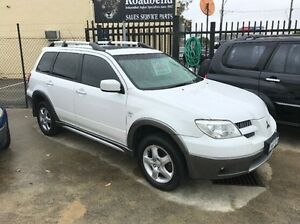 2004 Mitsubishi Outlander ZF XLS White 4 Speed Sports Automatic Wagon St James Victoria Park Area Preview