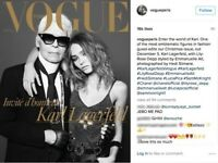 New VOGUE PARIS France Magazine Dec Jan 2016 Karl Lagerfeld Lily-Rose Depp