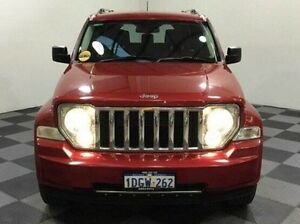 2010 Jeep Cherokee KK MY10 Limited Red 4 Speed Automatic Wagon Edgewater Joondalup Area Preview