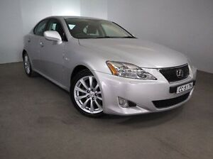 2007 Lexus IS250 GSE20R Sports Luxury Silver 6 Speed Sports Automatic Sedan Mount Gambier Grant Area Preview