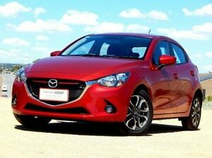 2014 Mazda 2 DJ2HAA Genki SKYACTIV-Drive Red 6 Speed Sports Automatic Hatchback Christies Beach Morphett Vale Area Preview