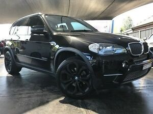 2012 BMW X5 E70 MY12.5 xDrive30d Steptronic Black 8 Speed Sports Automatic Wagon Summer Hill Ashfield Area Preview