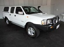 2013 Nissan Navara D22 S5 ST-R White 5 Speed Manual Utility Derwent Park Glenorchy Area Preview