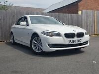 BMW 5 SERIES 2.0 520D SE 4DR AUTOMATIC (white) 2010
