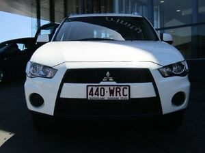 2010 Mitsubishi Outlander ZH MY10 LS White 6 Speed Constant Variable Wagon Earlville Cairns City Preview