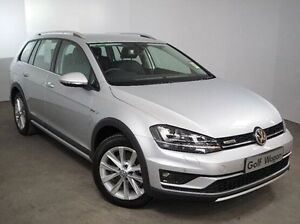 2016 Volkswagen Golf VII MY16 Alltrack DSG 4MOTION 132TSI Silver 6 Speed Mount Gambier Grant Area Preview