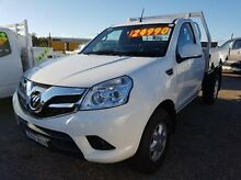 2015 Foton Tunland P201 P201 White Manual Utility Taylors Beach Port Stephens Area Preview