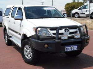 2005 Toyota Hilux GGN25R MY05 SR5 White 5 Speed Manual Utility Spearwood Cockburn Area Preview