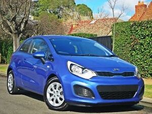 2013 Kia Rio UB MY14 S Blue 4 Speed Sports Automatic Hatchback Thorngate Prospect Area Preview