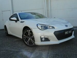 2012 Subaru BRZ Z1 MY13 White 6 Speed Sports Automatic Coupe Bundoora Banyule Area Preview