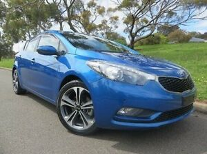 2014 Kia Cerato YD MY14 SLi Blue 6 Speed Sports Automatic Hatchback Christies Beach Morphett Vale Area Preview