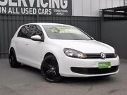2012 Volkswagen Golf VI MY12.5 90TSI DSG Trendline White 7 Speed Sports Automatic Dual Clutch Old Reynella Morphett Vale Area Preview