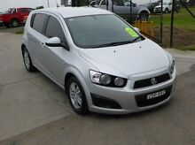 2011 Holden Barina TM Silver 6 Speed Automatic Hatchback Singleton Singleton Area Preview