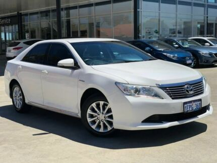 2013 Toyota Aurion GSV50R AT-X White 6 Speed Sports Automatic Sedan Palmyra Melville Area Preview