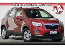2013 Holden Trax TJ LS Red 5 Speed Manual Wagon Mulgrave Monash Area Preview