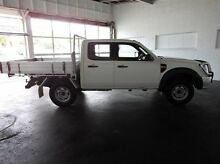 2011 Ford Ranger PK XL White 5 Speed Manual Cab Chassis Derwent Park Glenorchy Area Preview