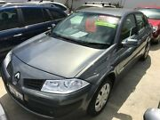 2007 Renault Megane II X84 Phase II Expression Grey 4 Speed Automatic Sedan St James Victoria Park Area Preview