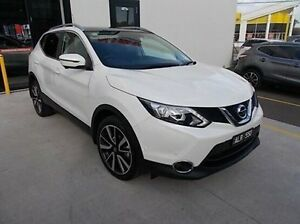 2016 Nissan Qashqai J11 TI White 1 Speed Constant Variable Wagon Burwood Whitehorse Area Preview