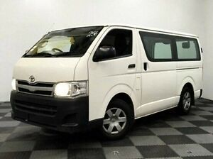 2010 Toyota Hiace TRH201R MY10 LWB White 5 Speed Manual Van Edgewater Joondalup Area Preview