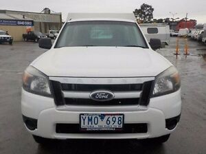 2011 Ford Ranger White Automatic Cab Chassis Pakenham Cardinia Area Preview