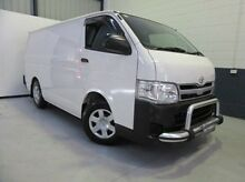 2012 Toyota Hiace KDH201R MY12 LWB White 5 Speed Manual Van Blair Athol Port Adelaide Area Preview