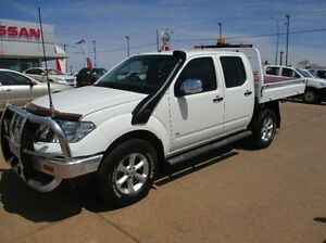 2014 Nissan Navara D40 S5 MY12 ST-X 550 White 7 Speed Sports Automatic Utility South Kalgoorlie Kalgoorlie Area Preview