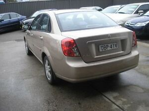 2006 Holden Viva JF Equipe Champagne 4 Speed Automatic Sedan Woodbine Campbelltown Area Preview