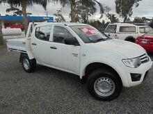 2012 Mitsubishi Triton  White Manual Cab Chassis Hastings Mornington Peninsula Preview