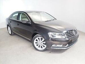 2013 Volkswagen Passat Type 3C MY13.5 130TDI DSG Highline Black 6 Speed Sports Automatic Dual Clutch Mount Gambier Grant Area Preview