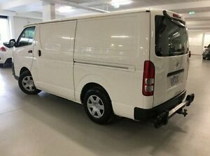 2009 Toyota Hiace KDH201R MY08 LWB White 5 Speed Manual Van Narre Warren Casey Area Preview