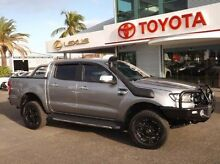 2015 Ford Ranger PX XLT Double Cab Silver 6 Speed Sports Automatic Utility Rockhampton 4700 Rockhampton City Preview