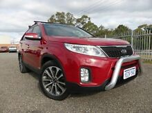 2012 Kia Sorento XM MY13 Platinum 4WD Red 6 Speed Sports Automatic Wagon East Rockingham Rockingham Area Preview