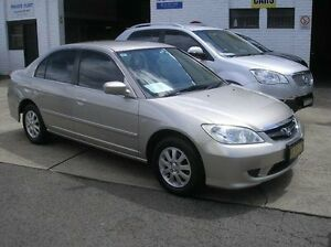 2004 Honda Civic 7th Gen MY2004 GLi Beige 4 Speed Automatic Sedan Woodbine Campbelltown Area Preview