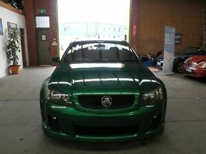 2009 Holden Ute VE MY10 SV6 Green 6 Speed Manual Utility Heidelberg Heights Banyule Area Preview