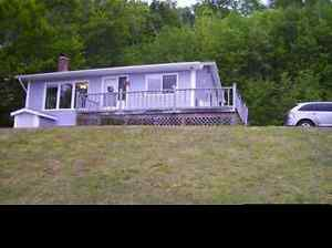 Seaside Cottage on Bras d'Or Lakes/New Campbellton/Cape Dauphin